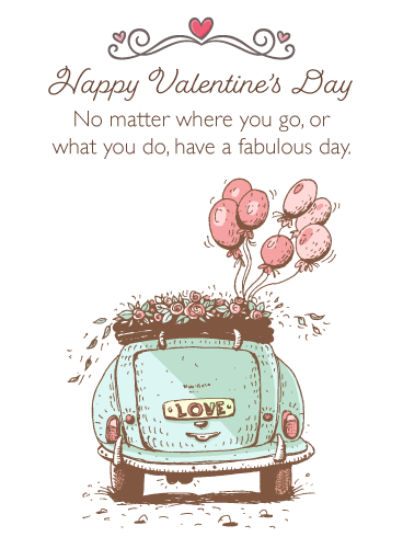 Love is Everywhere - Happy Valentine's Day Card for Everyone