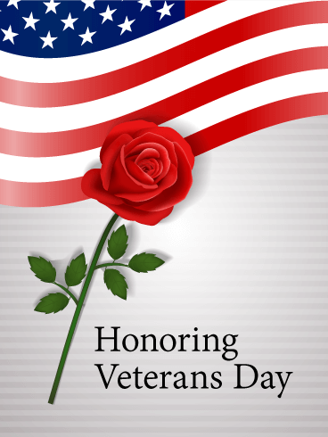 Honoring Veterans Day Card