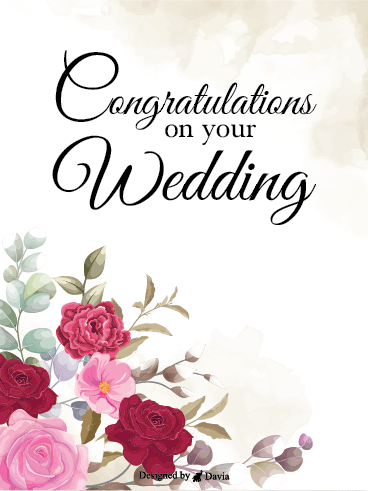 Lifetime Happiness – Wedding Cards