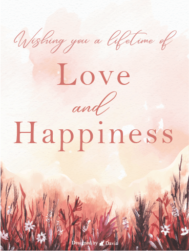 Lifetime Love – Wedding Cards