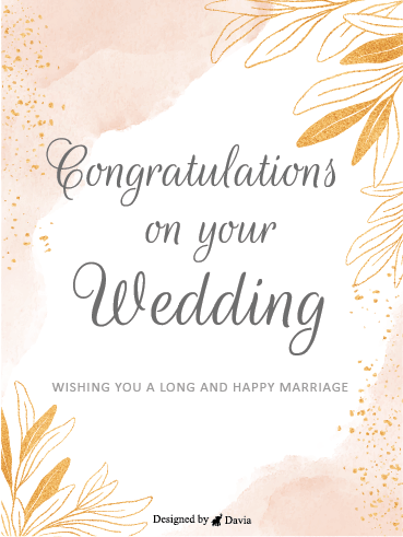 Joy & Love – Wedding Cards