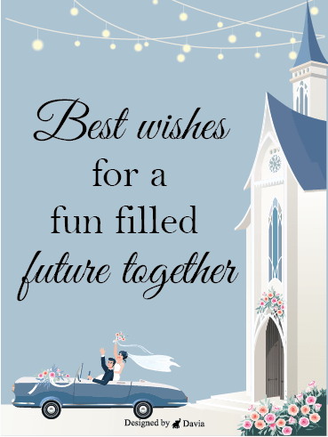 We Are Married! – Wedding Cards