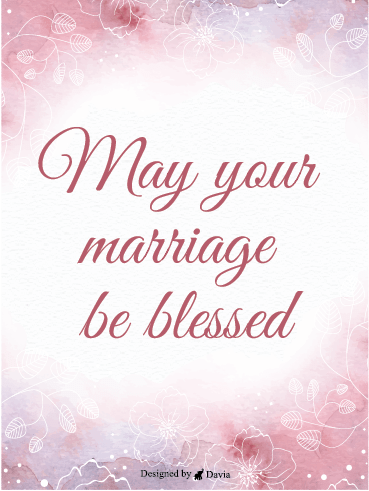 Pink & Blessed – Wedding Cards