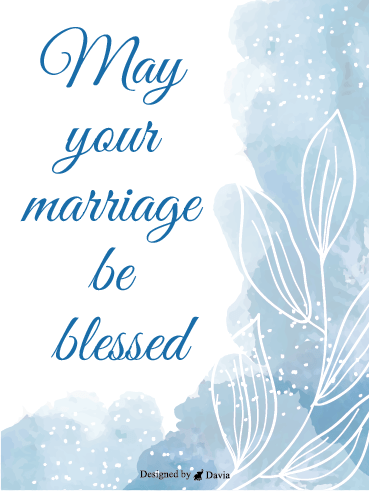 Blessed Marriage – Wedding Cards