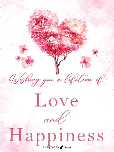 Love Tree – Wedding Cards