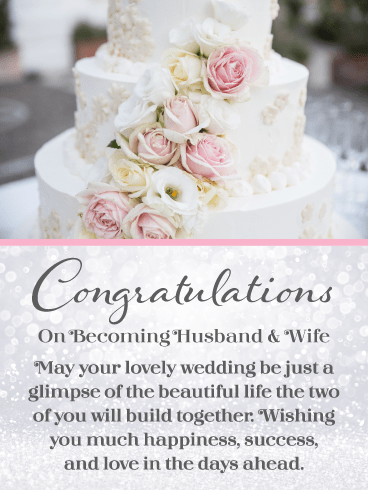 Building a Life Together – Wedding Card