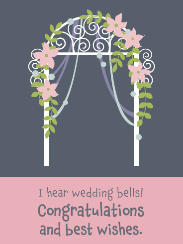 Wedding Arch- General Wedding Card
