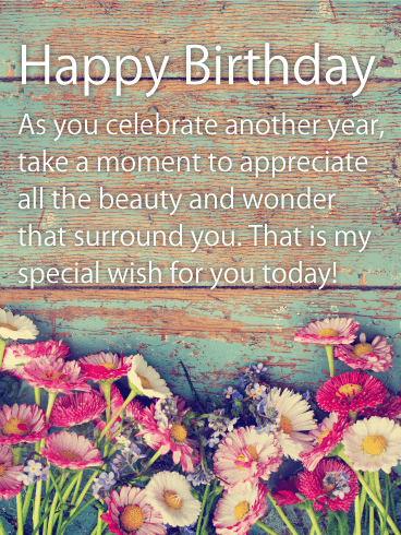special happy birthday wishes card birthday wishes messages davia