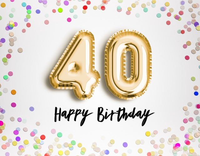 Happy 40th Birthday Messages With Images Birthday Wishes And Messages By Davia